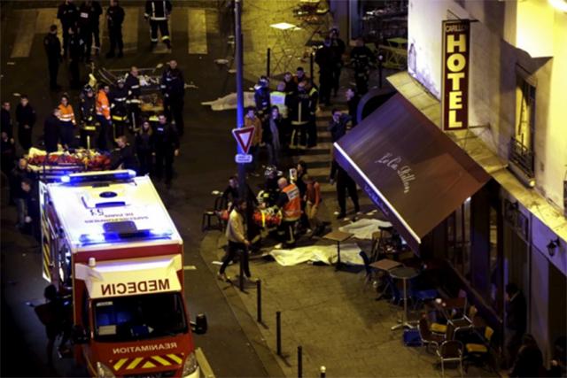 Restaurant attack Paris